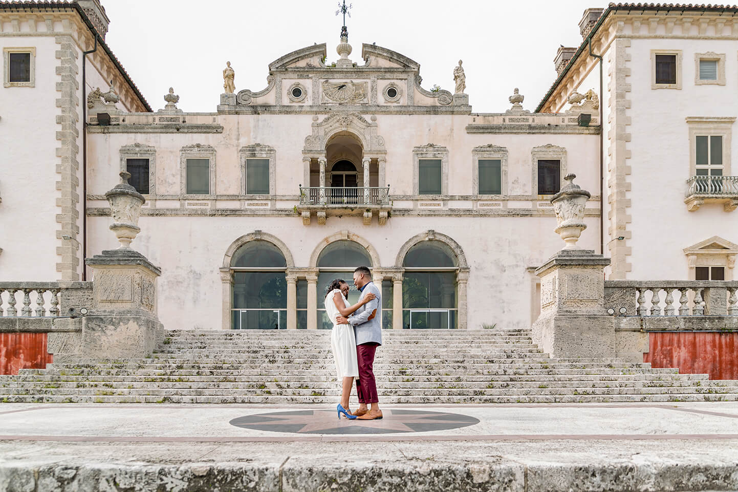 Vizcaya Engagement Photos by Miami Wedding Photographer for White House Wedding Photography