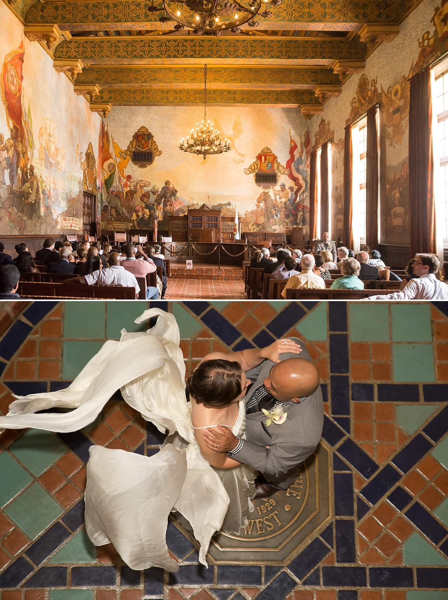 Photo collage of fine art wedding photography by White House Wedding Photography
