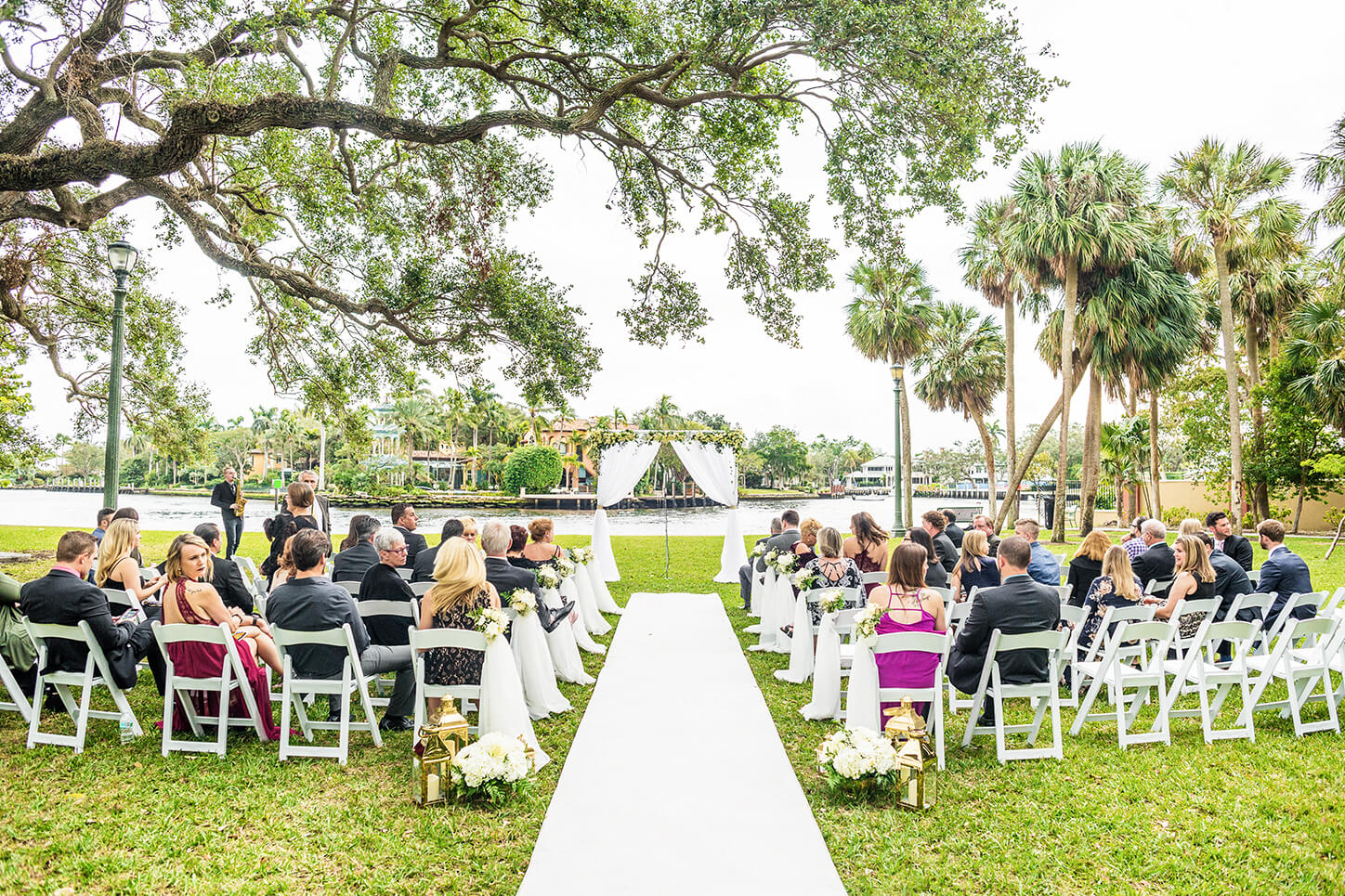 Featured photo of wedding ceremony for wedding venue post by White House Wedding Photography