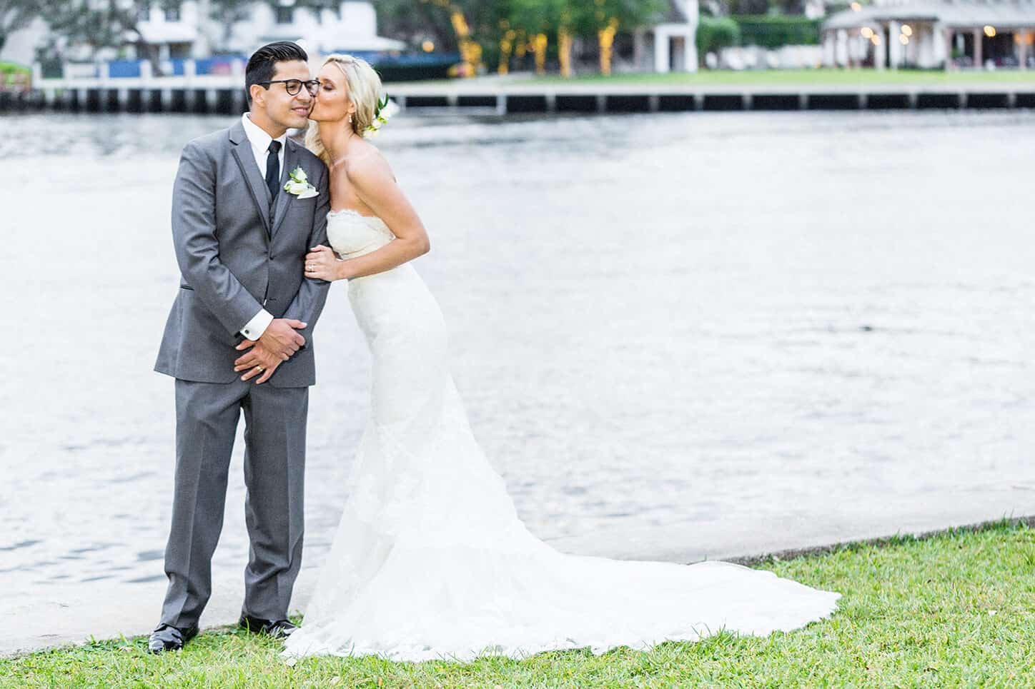 Photo of Newlywed husband & Wife | For The Secrets To Hiring The Best Wedding Photographer in Naples, FL Post